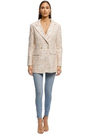 Alexia-Admor-Double-Breasted-Tweed-Jacket-Cream-Front