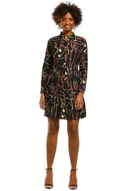 Alexia-Admor-Holly-Shirt-Dress-With-Ruffle-Skirt-Multi-Front