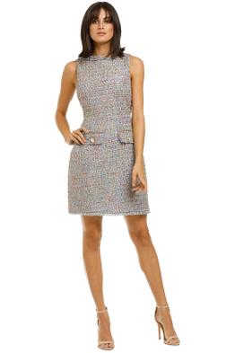 Alexia-Admor-Klara-Tweed-Dress-Sky-Blue-Front