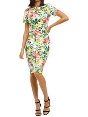 Alexia-Admor-Scuba-Sheath-Dress-Lemon-Floral-Front