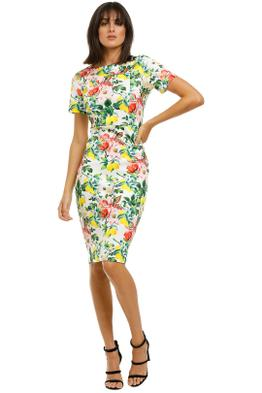 Alexia-Admor-Scuba-Sheath-Dress-Lemon-Floral-Front