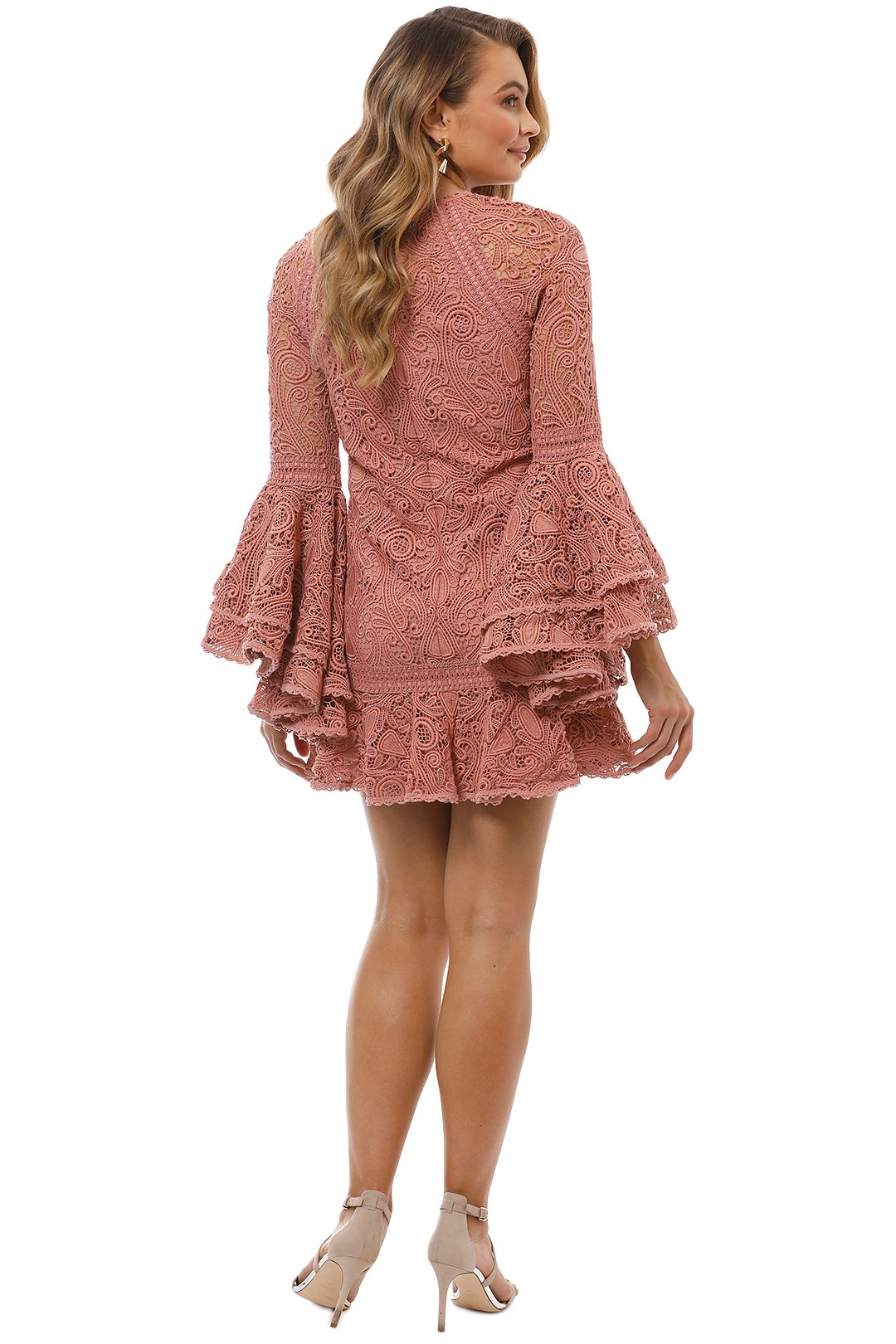 Alexis - Veronique Dress - Pink - Back