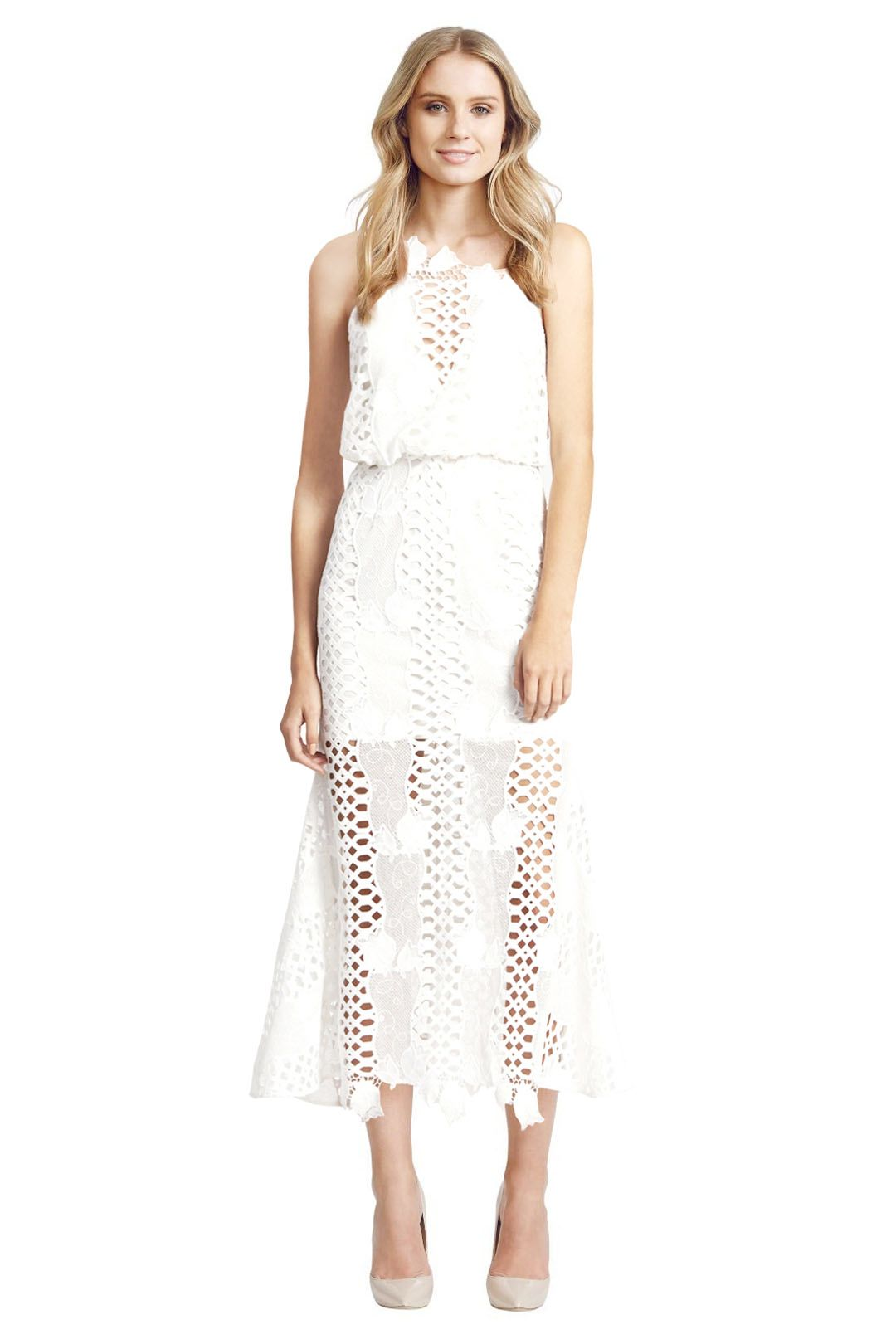 Alice McCall - Love Light Dress - White - Front