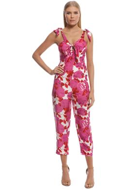 Alice McCall - Betty Baby Jumpsuit - Plum - Front