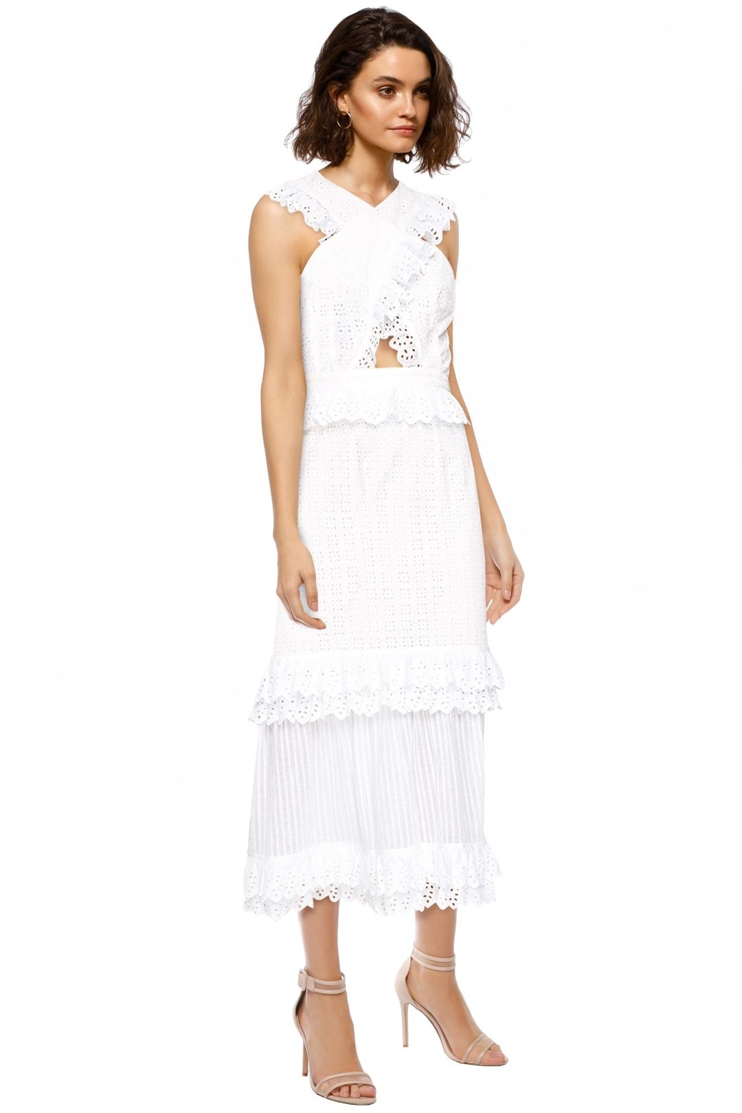 Alice McCall - Everything She Wants Dress - Porcelain White - Side