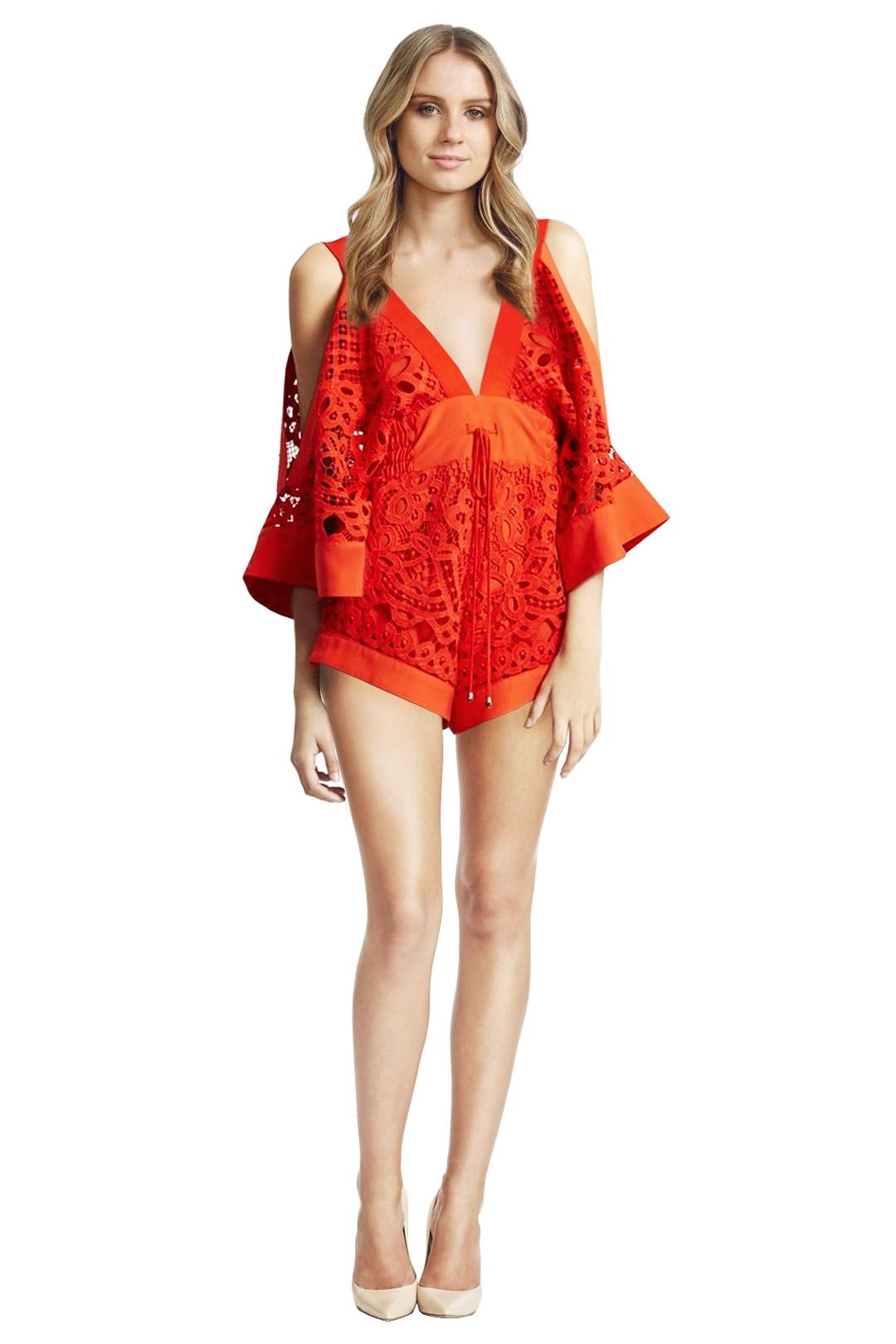 Alice McCall - Keep me there Playsuit - Red - Front