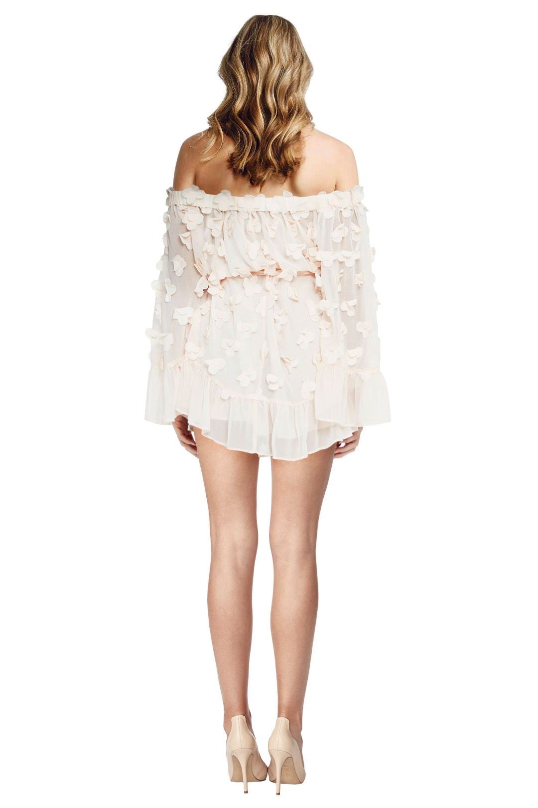 Alice McCall - Pastime Paradise Playsuit - Shell Pink - Back
