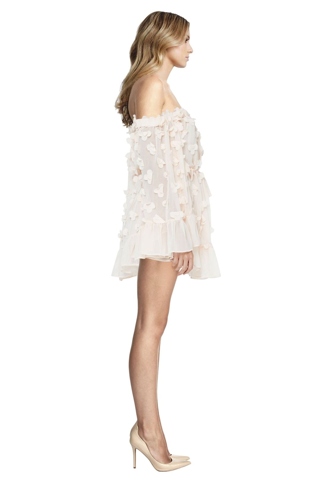 Alice McCall - Pastime Paradise Playsuit - Shell Pink - Side
