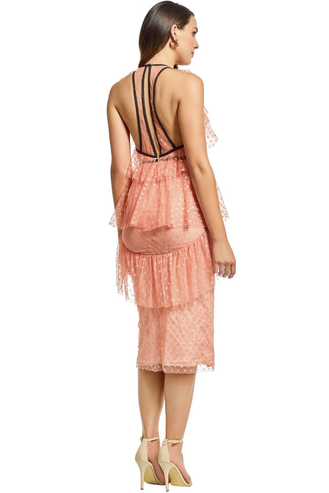 Alice McCall - You and Me Dress - Rose - Back