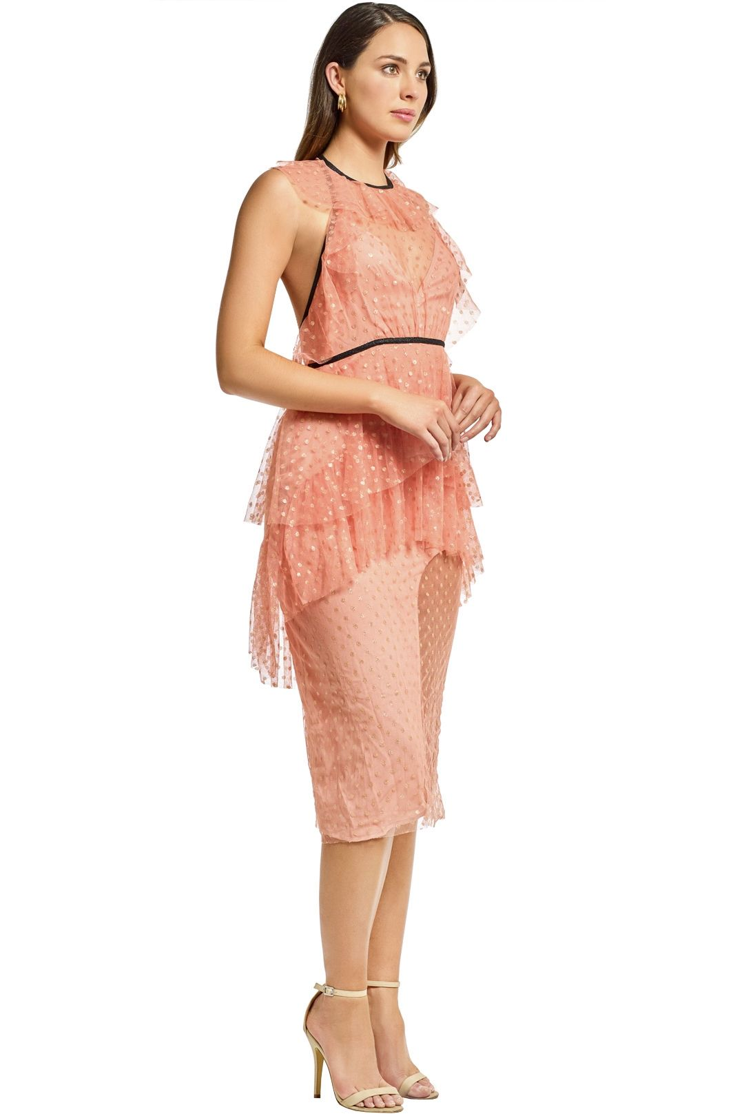 Alice McCall - You and Me Dress - Rose - Side