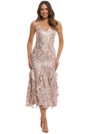 Alice McCall - Best of You Dress - Champagne - Front