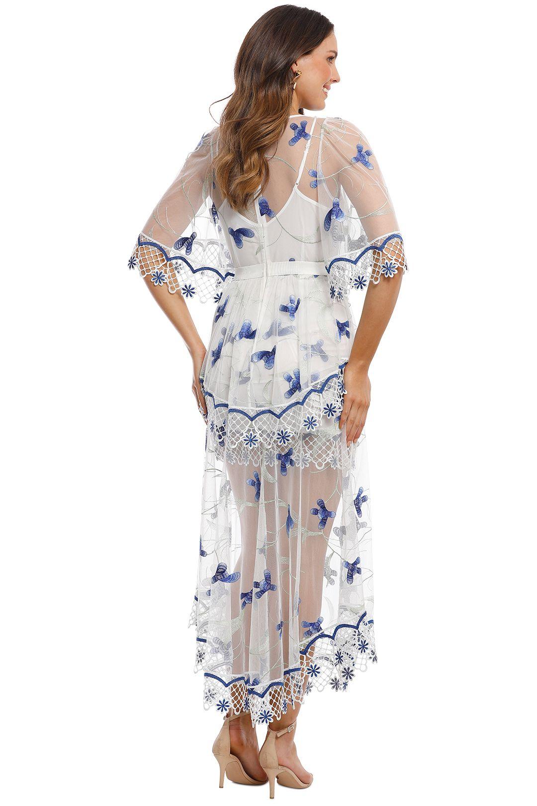 Alice McCall - Marigold Dress - Porcelain Sugarplum - Back