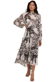 AllSaints Eimear Creation Maxi Dress