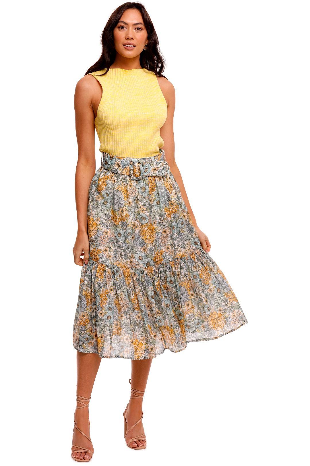Anna Quan Lena Top Limoncello yellow