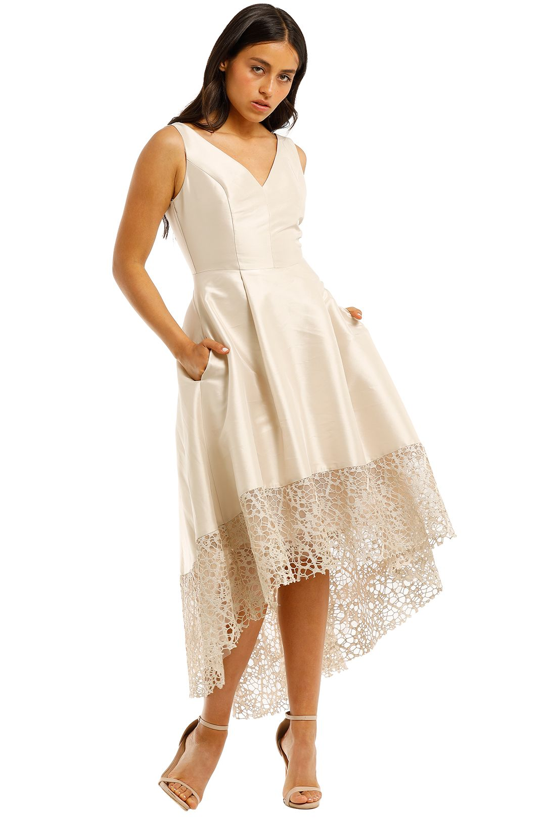 Anthea-Crawford-Satin-Hi-Lo-Dress-Lustre-Side