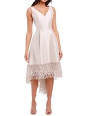 Anthea Crawford Satin Hi Lo Dress Lustre