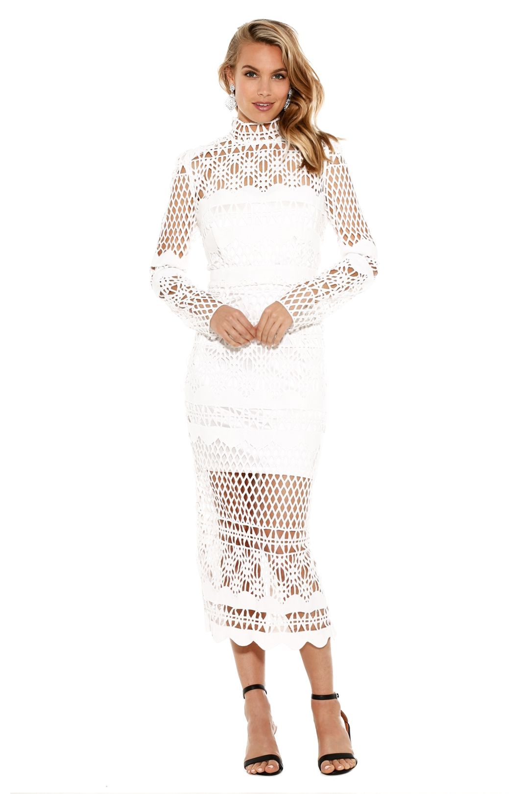 Asilio - A Love Like That Dress - White - Front