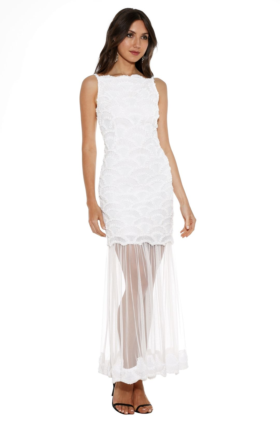 Asilio - An English Summer Dress - White - Side