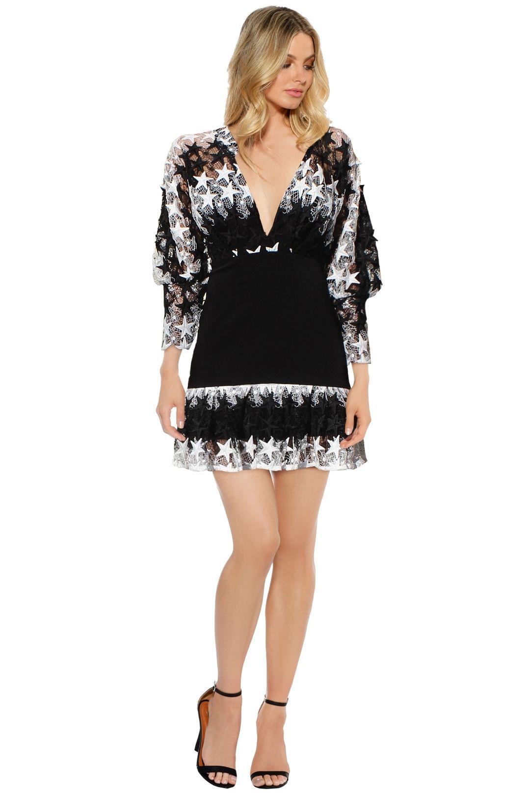 Asilio - No Longer Lovers Dress - Black White - Front
