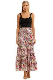 Auguste Camila Lucie Maxi Skirt Floral