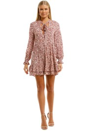 Auguste Freya Eliza Mini Dress Blush