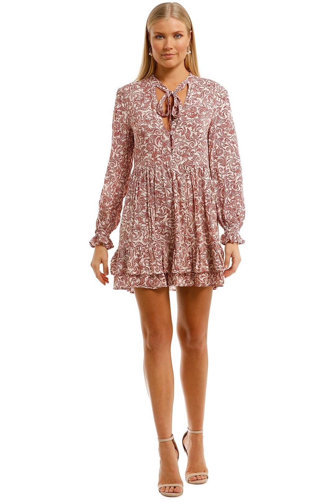 Auguste Freya Eliza Mini Dress Blush