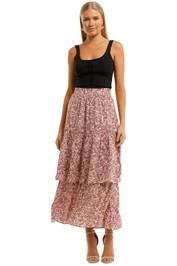 Auguste Freya Lise Maxi Skirt Boho Print