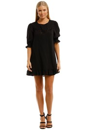 Auguste Lila Mini Dress Black