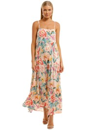 Auguste Posie Roxy Tiered Maxi Dress