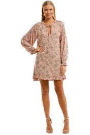 Auguste Thelma Bridgette Sleeved Mini Dress Pink