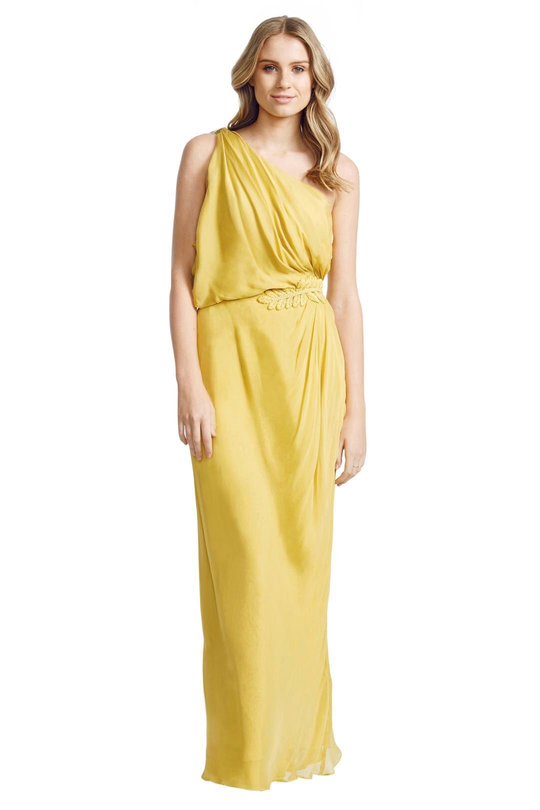Aurelio Costarella - Athene Gown - Yellow - Front