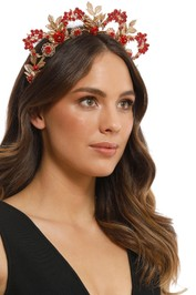 Eve Til Dawn - Rose Crown - Red Gold
