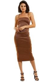 Bec-and-Bridge-Bronze-Baby-Midi-Dress-Copper-Front