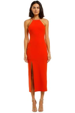 Bec-and-Bridge-Candy-Midi-Dress-Chilli-Front