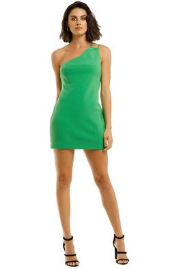 Bec-and-Bridge-Emerald-Avenue-Mini-Dress-Green-Front