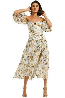 BEC + BRIDGE - Fleurette Off Shoulder Dress
