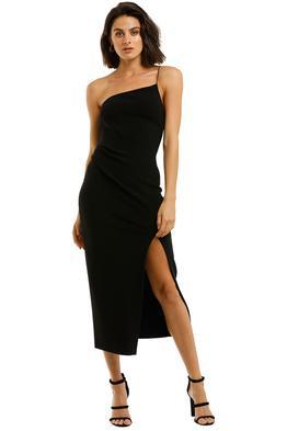 Bec-and-Bridge-Raphaela-Midi-Dress-Black-Front