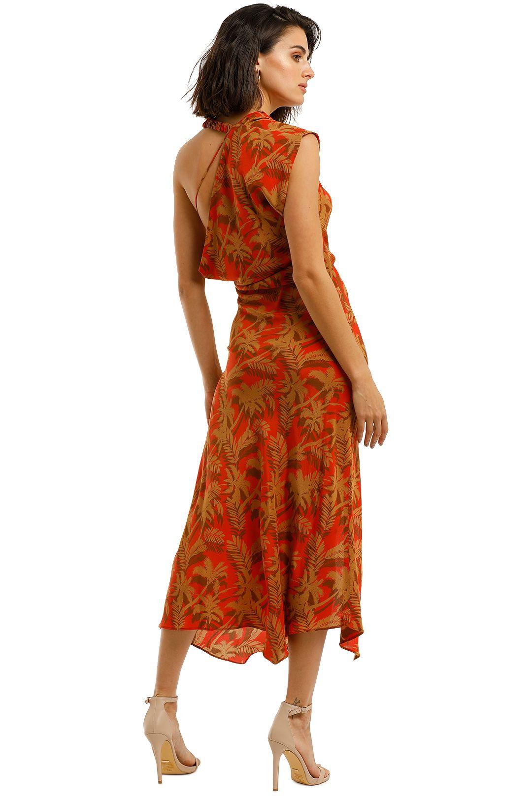 Bec-and-Bridge-Shady-Palm-Asymmetric-Midi-Dress-Back
