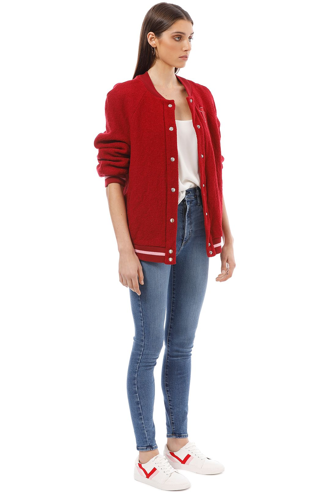 Bec and Bridge - Be Mine Bomber - Red - Side