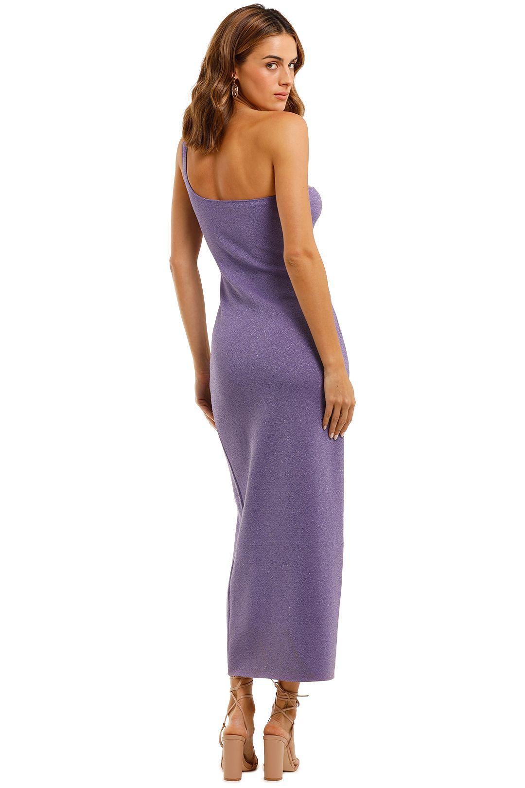 Bec and Bridge Adalane Asymmetric Knit Midi Dress