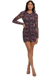 Bec and Bridge Anais Mesh Mini Dress