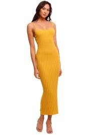 Bec and Bridge Antoinette Knit Midi Dress