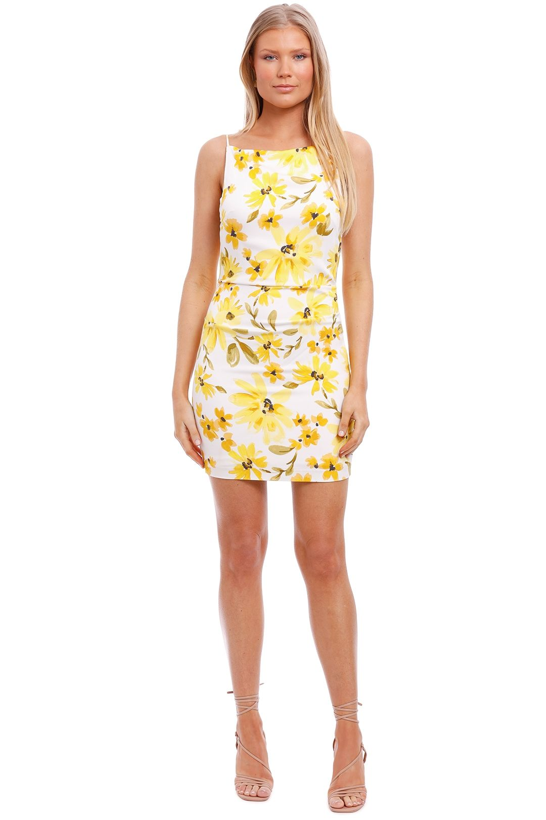 Bec and Bridge Daphne Mini Dress Print