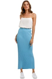 Bec and Bridge Eden Pleated Maxi Skirt
