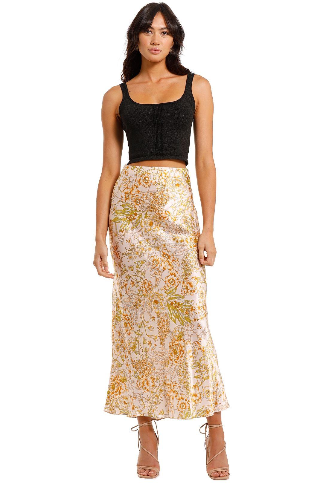 Bec and Bridge Floria Maxi Slip Skirt