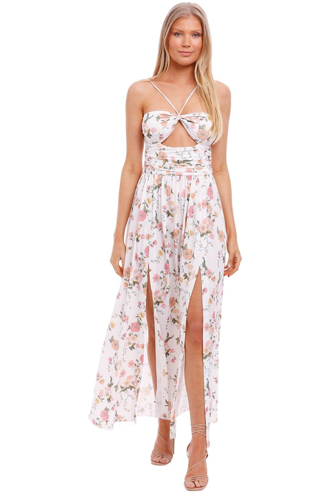 Bec and Bridge Isla Print Midi Dress floral
