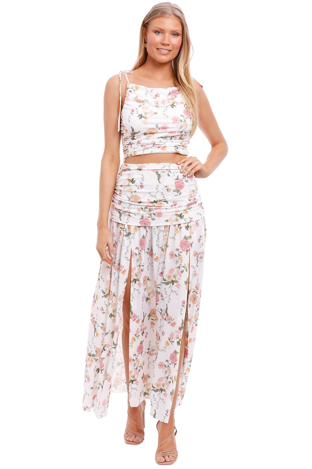 Bec and Bridge Isla Print Top and Skirt Set