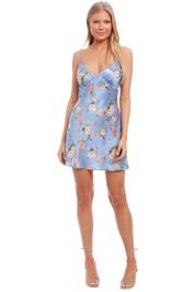 Bec and Bridge Kika Sleeveless Mini Dress print