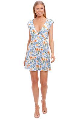 Bec and Bridge La Jolie Wrap Mini Dress