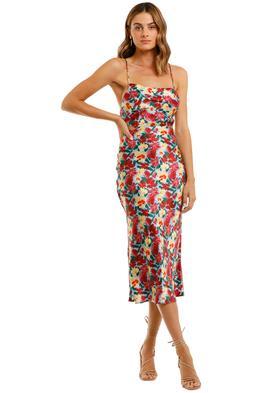 Bec and Bridge Lucette Midi Dress Floral